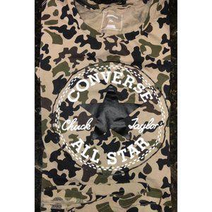 CONVERSE camouflage T-shirt XL Chuck Taylor XL